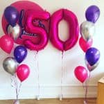 Helium Balloon Number Packages