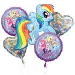 My Little Pony Helium Balloon Bouquet