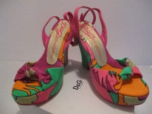 Dolce & Gabbana Towelling Pucci -esque printed wedges. NIB €319 *SOLD*