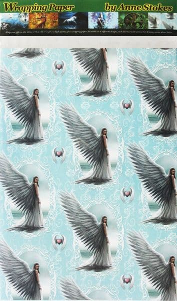ANNE STOKES Spirit Guide Fantasy Wrapping Paper