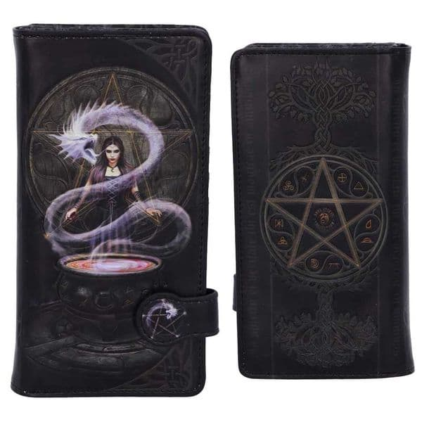 ANNE STOKES The Summoning Gothic Embossed Purse