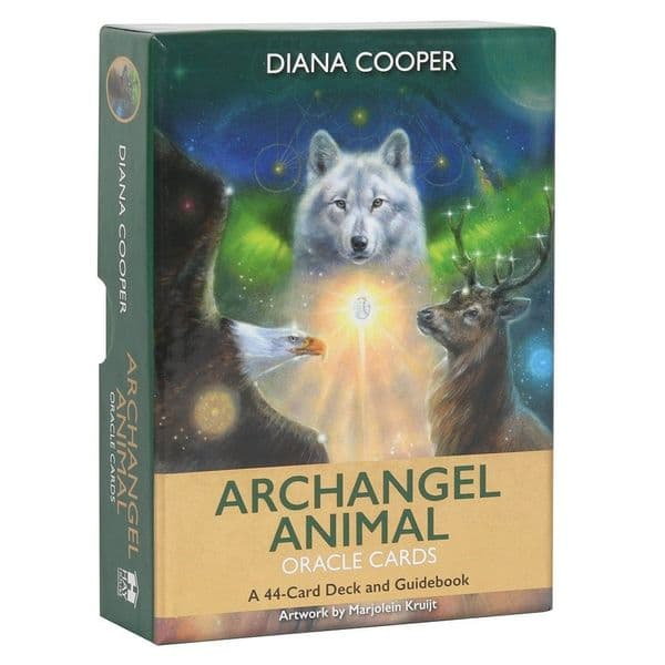 Archangel Animal Oracle Card Deck by Diana Cooper