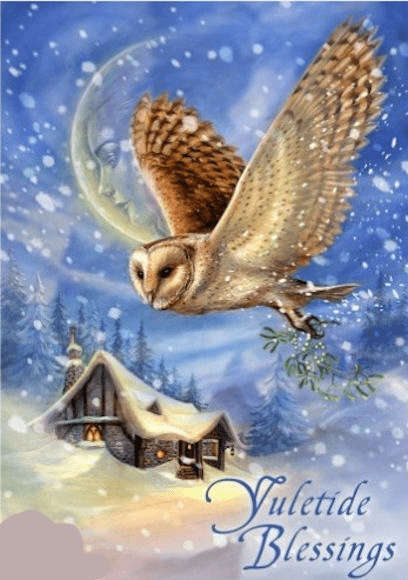 Briar SNOW BRINGER Yule Greeting Card