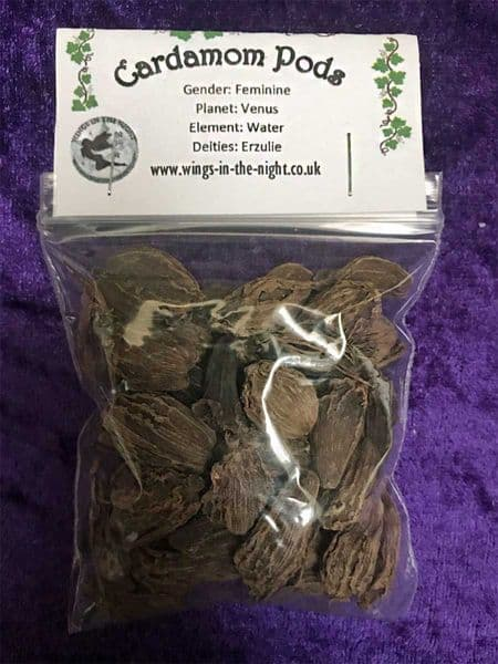 CARDAMOM PODS Dried Magical Herb 25g
