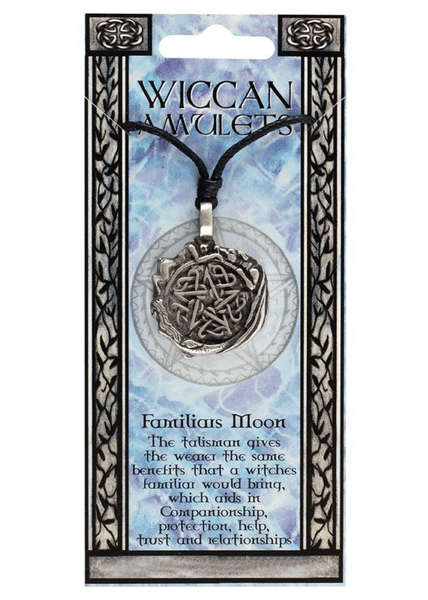 FAMILIARS MOON Wiccan Amulet Necklace
