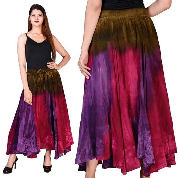 JORDASH Ladies Gothic Floaty Gypsy Skirt