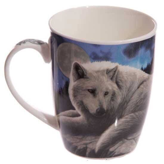 Lisa Parker Guardian of the North Wolf Mug