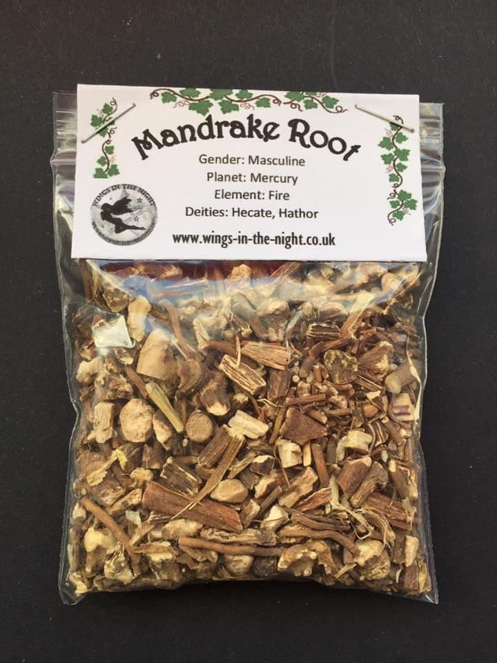 MANDRAKE Dried ROOT (American) 25g | Pagan & Wicca Shop