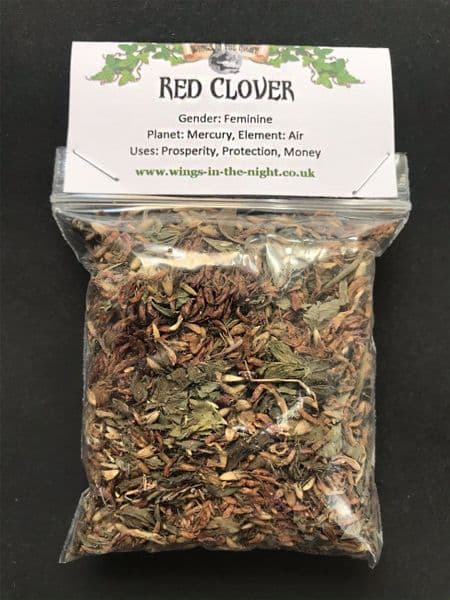 RED CLOVER Dried Herb - Lust, Purification