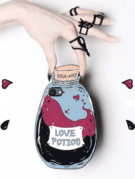 Rogue + Wolf Love Potion Iphone 6/6S/7 Mobile Case