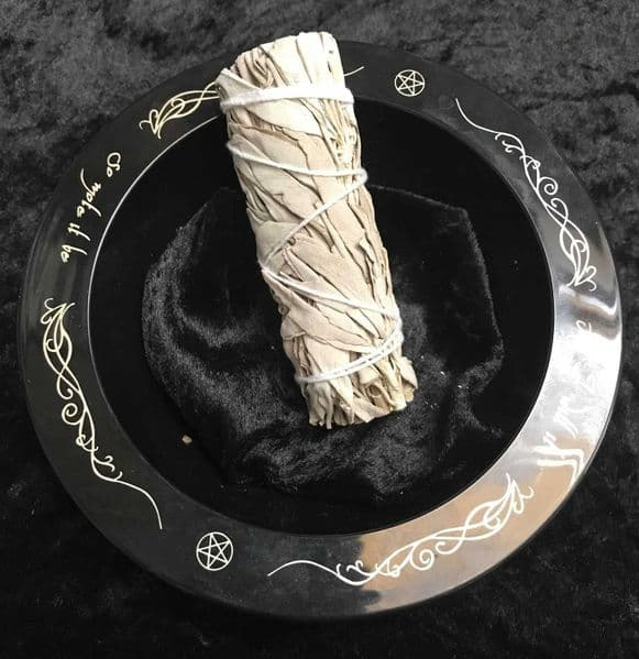White SAGE Smudge Stick 4.5' Cleansing, Purification