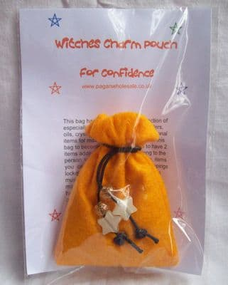 Witches Charm Pouch for Confidence