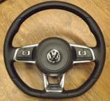Mk7 Flat Bottom Multifunction Steering Wheel & Airbag - Supply & Fit
