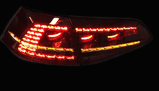 Mk7 Golf R 2013> Smoked LED Rear Lights - Supply & Fit