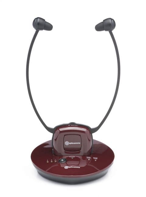 Amplicomms TV 2500 Digital Amplified TV Listener with headphones