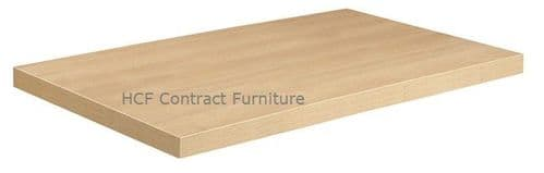 1100mm x 600mm x 50mm thick MFC Table Top (P) 2 Colours