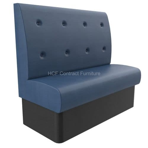 1200mm Wide Buttoned Back - Banquette Seating - High Back