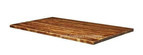 1800mm  x 700mm x 32mm Thick Aged Rustic Solid Pine Wood Table Tops (P)