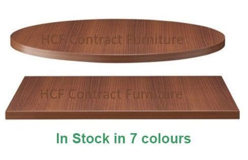 25mm Thick Premium Contract Laminate Table Tops (B) - In Stock