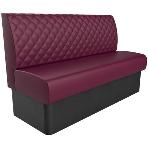3 Seater Kansas Luxurious Deep Quilted - 1500mm Booth
