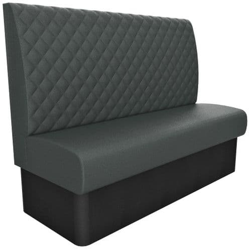 3 Seater Kansas Quilted - High Back 1500mm Booth
