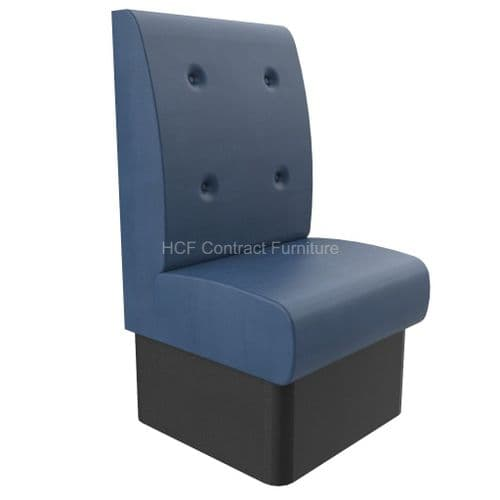600mm Wide Buttoned Back - Banquette Seating - High Back