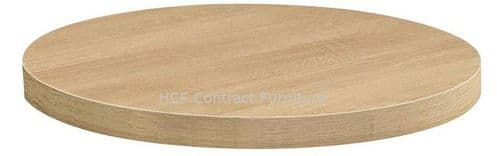 700mm dia Round 50mm thick MFC Table Top (P) 2 Colours