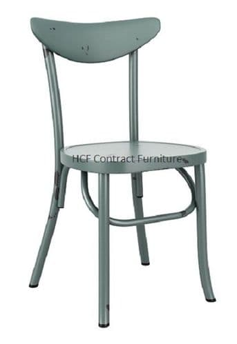 Ada Stacking Chair - Vintage Light Blue  (P)