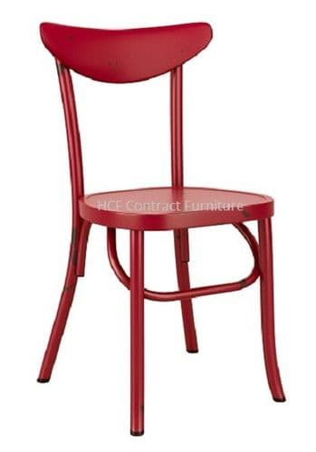 Ada Stacking Chair - Vintage Red  (P)