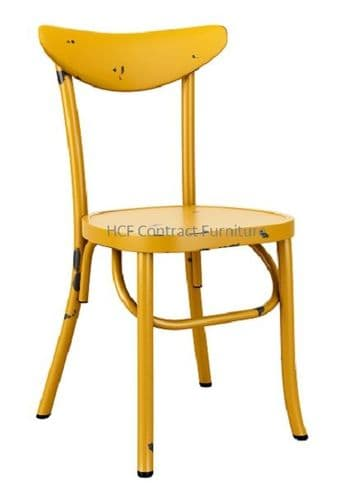 Ada Stacking Chair - Vintage Yellow  (P)