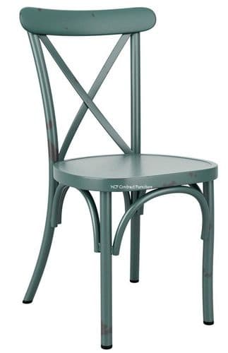Beatrice Side Chair - Vintage Light Blue (P)