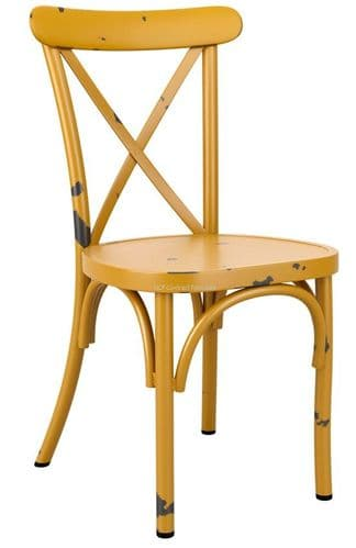 Beatrice Side Chair - Vintage Yellow (P)