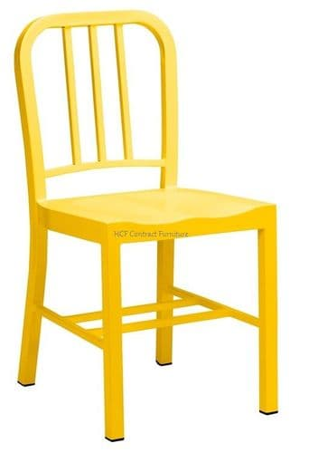 Biarritz Steel Frame Chair. RAL COLOURS