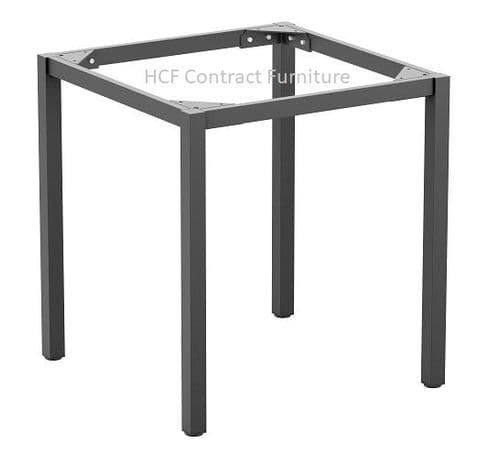 Boxed Steel Table Bases (P) Grey