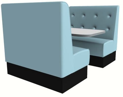 Buttoned Back Booth Sets