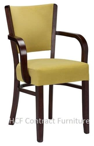 Canterbury Soprano Upholstered Arm Chair (O) MADE TO ORDER