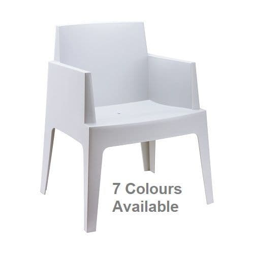 Cubix Chairs - Stackable Chairs  -  Available in 7 Colours.