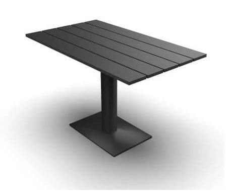 EnviroFriend Outdoor & Indoor Complete Table - 1200mm x 700mm  (Black)