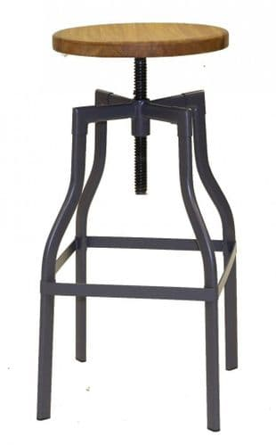 Factory Style Adjustable High Chair