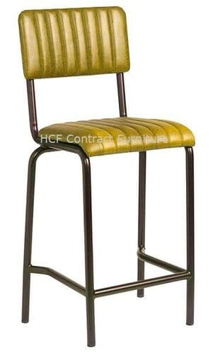Fleming Mid Bar Stool Vintage Gold (P)