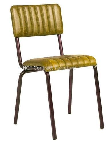 Fleming Side Chair Vintage Gold (P)