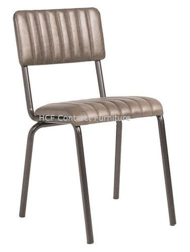 Fleming Side Chair Vintage Silver (P)
