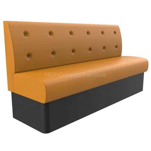Floating Button Back 1800mm Wide - Banquette Seating