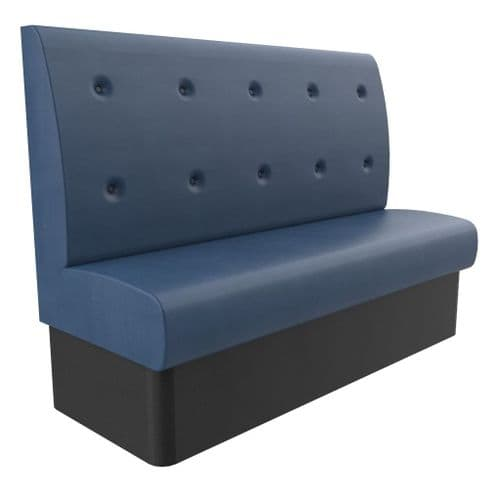 Floating Button Back Banquette / Booth Seating - High Back