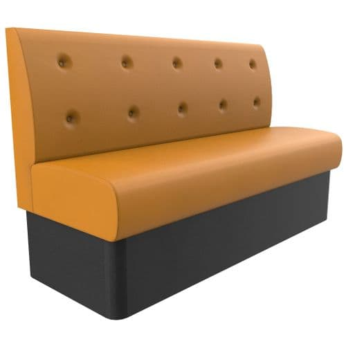 Floating Buttoned Back Banquette/Booth Seating - Standard Height