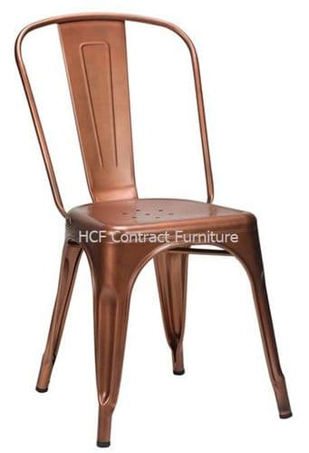 French Bistro Side Chair - Copper (O)