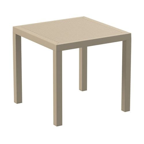 HCF Plank Resin Table - Contract Quality - (6 Colours) Square (P)