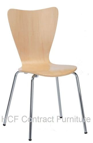 HCF738 Lille Natural Side Chair (GL) 2 Colours Available-IN STOCK