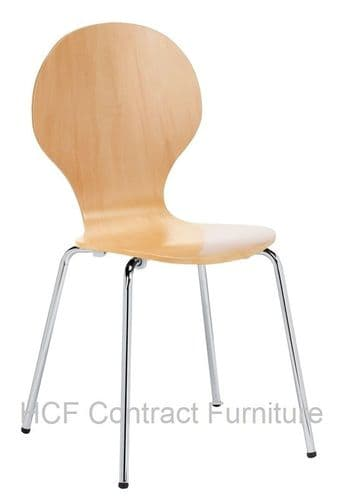 HCF738 Martigues Wenge Side Chair (GL) 2 Colours Available-IN STOCK