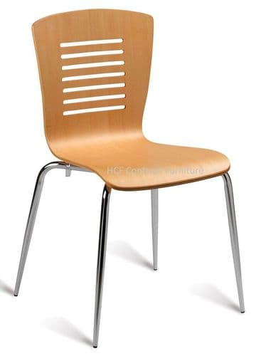 HCF810 Maple Side Chair (GL) 2 Colours Available-IN STOCK